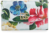 Dolce & Gabbana Printed Floral Wallet On A Chain