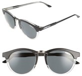 Smith Optics Women's 'Questa' 49Mm Polarized Sunglasses - Amber Tortoise