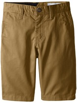 Volcom Frickin Chino Shorts (Big Kids)