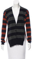 Stella McCartney Striped Wool Cardigan