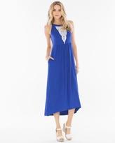 Soma Intimates High-Low Hem Midi Dress Jewel Blue