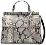 Tory Burch Block T snake embossed satchel bag