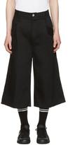 Baja East Black Denim Shorts