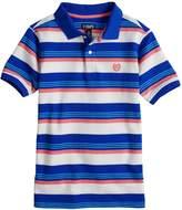 Chaps Boys 4-20 Alex Striped Polo