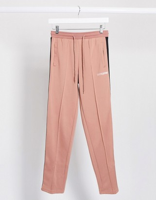 Sixth June relaxed sweatpants with side taping