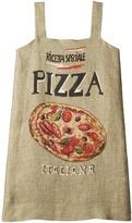 Dolce & Gabbana Pizza Stuoia Dress Girl's Dress