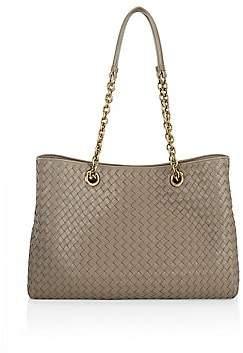 Bottega Veneta Women's Large Chain Leather Tote