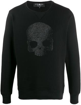Hydrogen Skull Embellished Sweatshirt