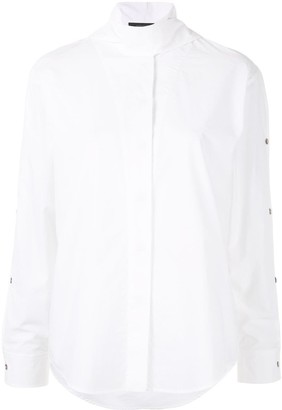 Cédric Charlier multi-button long sleeve shirt