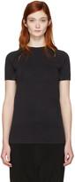 Y-3 Sport Black Fine Knit T-shirt