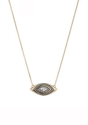 Sorellina Axl Marquise Diamond Pendant Necklace