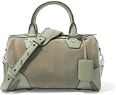 Rag & Bone Suede and leather shoulder bag