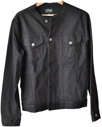 Eve Denim Black Denim - Jeans Jacket for Women