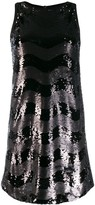 Emporio Armani Abito sleeveless embellished dress