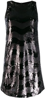 Emporio Armani Abito sleeveless embellished dress