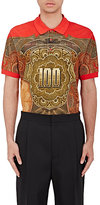 Givenchy Men's Money-Print Polo Shirt-RED