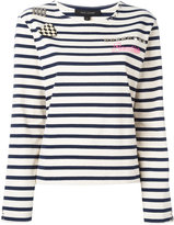 Marc Jacobs Breton stripe T-shirt - women - Cotton - S