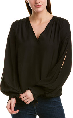 Ramy Brook V-Neck Cold-Shoulder Tunic