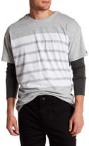 Zanerobe Highway Rugger Oversized Stripe Graphic Tee