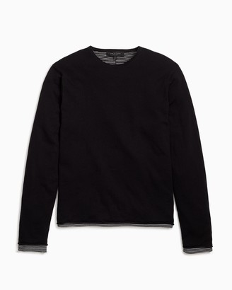 Rag & Bone Palmer long sleeve crew