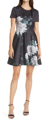 Ted Baker Luicy Floral Skater Dress