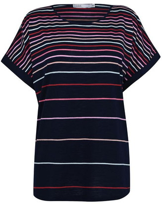 Oasis Curve Stripe T-Shirt