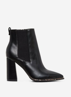 Dorothy Perkins Womens Black 'Amerie' Heeled Ankle Boots, Black