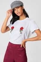 Na Kd Trend Flower Embroidery Tee