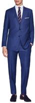 Vince Camuto Birdseye Wool Notch Lapel Suit