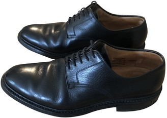 Crockett Jones Crockett& Jones Black Leather Lace ups