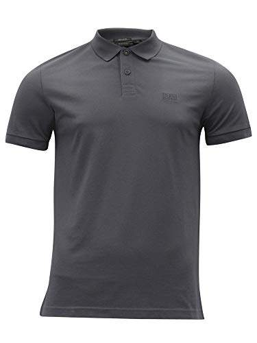 14020600c Hugo Boss Polo Shirt In Grey - ShopStyle