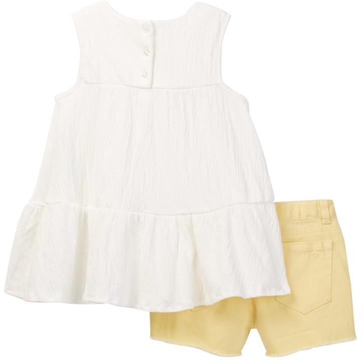 Jessica Simpson Floral Tank & Short 2-Piece Set (Baby Girls)