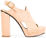 Chloé 'Mischa' platform sandals - women - Leather/Suede - 40