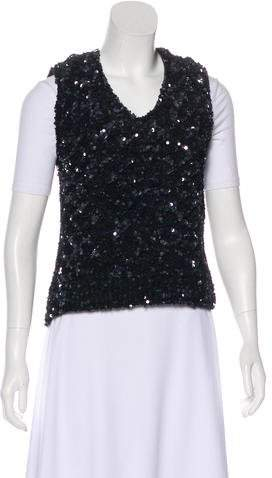 Louis Vuitton Sequin Embellished Vest