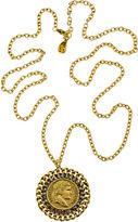 Yochi Design Yochi Napoleon Empereur Medallion Pendant Necklace
