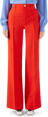 Gucci 70s Wool-Silk Cady Pants