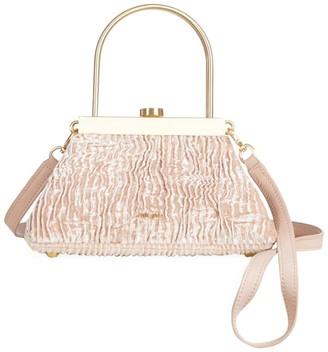 Cult Gaia Mini Estelle Velvet Top Handle Bag