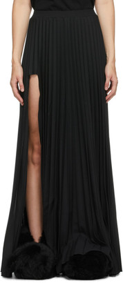 Vetements Black Plisse Skirt