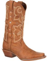 "Durango Western Boots Womens 12"" Crush Cross Strap DRD0090"