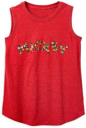 Disney Mickey Mouse Speckled Tank Top for Women