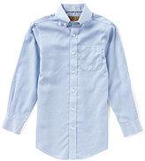 Class Club Gold Label Big Boys 8-20 Non-Iron Button-Front Shirt