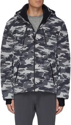 Aztech Mountain 'Nuke Suit' camouflage print hooded waterproof puffer jacket