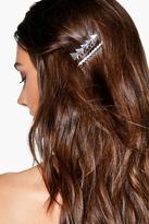 Boohoo Natasha Arrow Hair Pin And Clip Pack