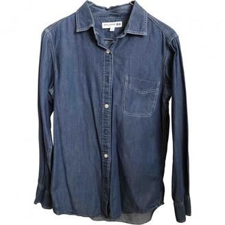Uniqlo Blue Cotton Top for Women