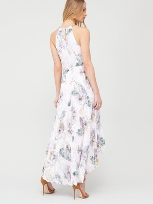 Ted Baker Daniiey Woodland Pleated Maxi Dress - Pale Pink