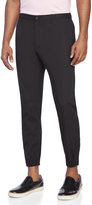 Diesel Cropped Mix Media Trousers