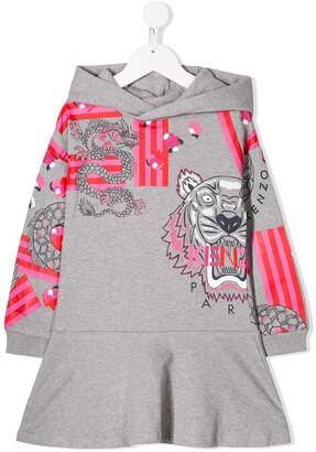 Kenzo Japanese Tiger Dress