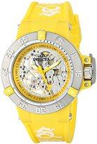 Invicta Women's 16780 Subaqua Analog Display Mechanical Hand Wind Yellow Watch