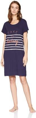 Nautica Women's Graphic Sleepshirt