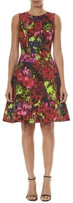 Carolina Herrera Sleeveless A Line Dress